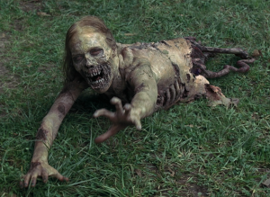 crawling dead zombie