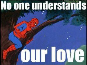 spider man love