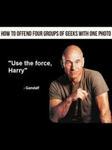 use the force